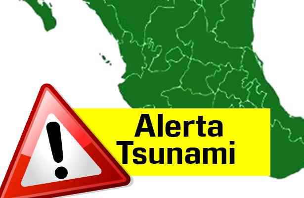 mapa tsunami